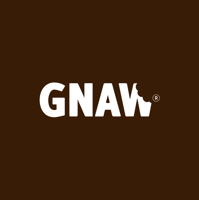 LOGO GNAW CHOCOLATE UAE