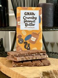 GNAW CHOCOLATE CRUNCHY PEANUT BUTTER MILK CHOCOLATE 100GR DUBAI