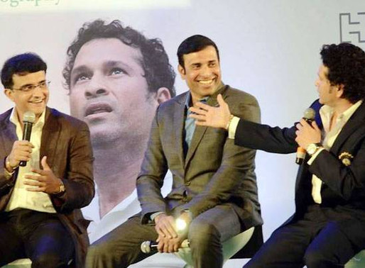 Ganuguly called VVS Laxman as mama in Telugu | News 14