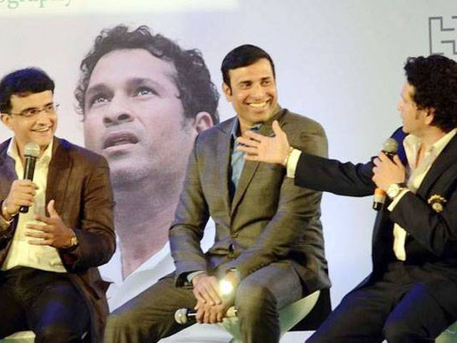 Ganuguly called VVS Laxman as mama in Telugu | News 14