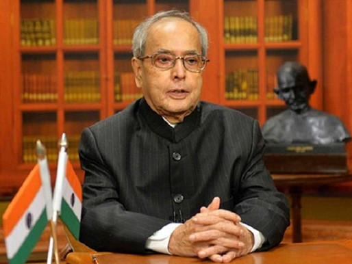 Former President of India Pranab Mukharjee is no more