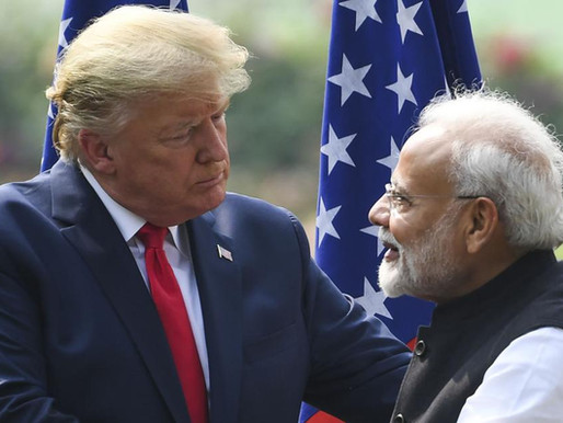 Modi not in good mood : Trump