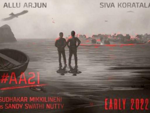 Allu Arjun & Koratala #AA21 movie will be a Pan India movie