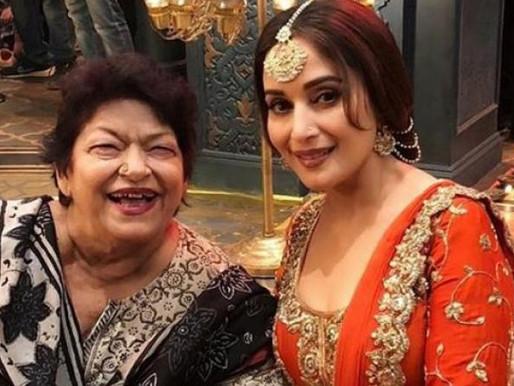 Bollywood senior dance choreographer Saroj Khan is no more