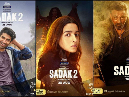 Nepotism: Sadak2 Trailer is getting dislikes in millions