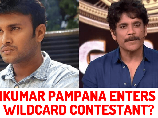 Surya Kiran  will leave the BiggBoss4 house and Saikumar Pampana will join as wild card entry