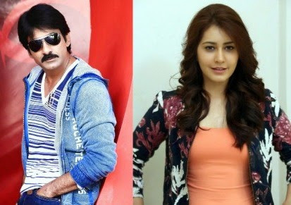 Rashi Khanna is going to share screen with Ravi Teja again