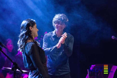 Shana Müller e Tiago Flores (Orquestra da ULBRA)