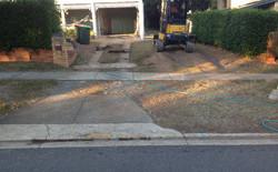 Plain Concrete - Before