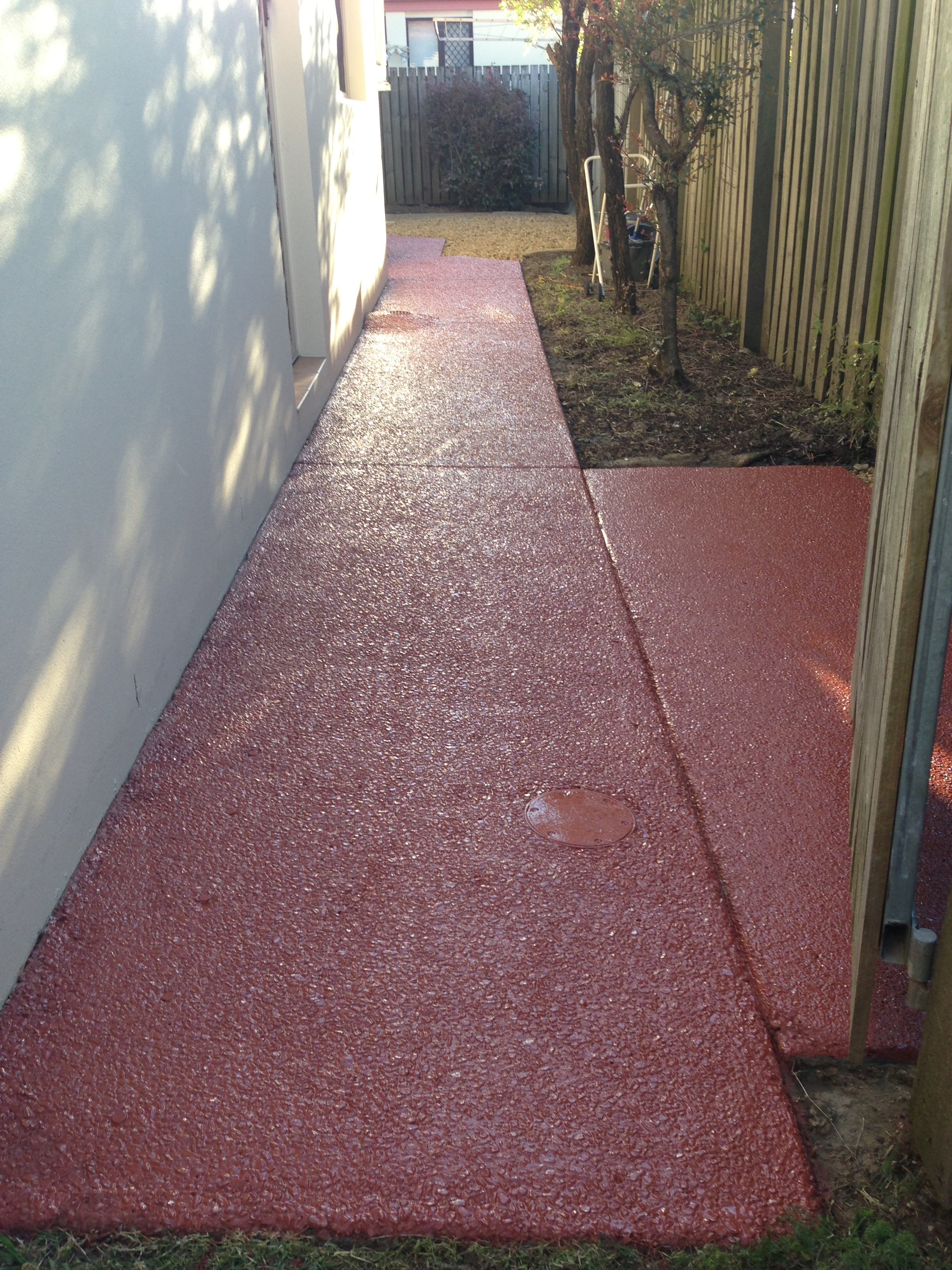 Coloured Sealer Path - Final