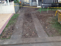 Exposed Driveway - Before
