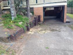 Exposed Concrete - Before