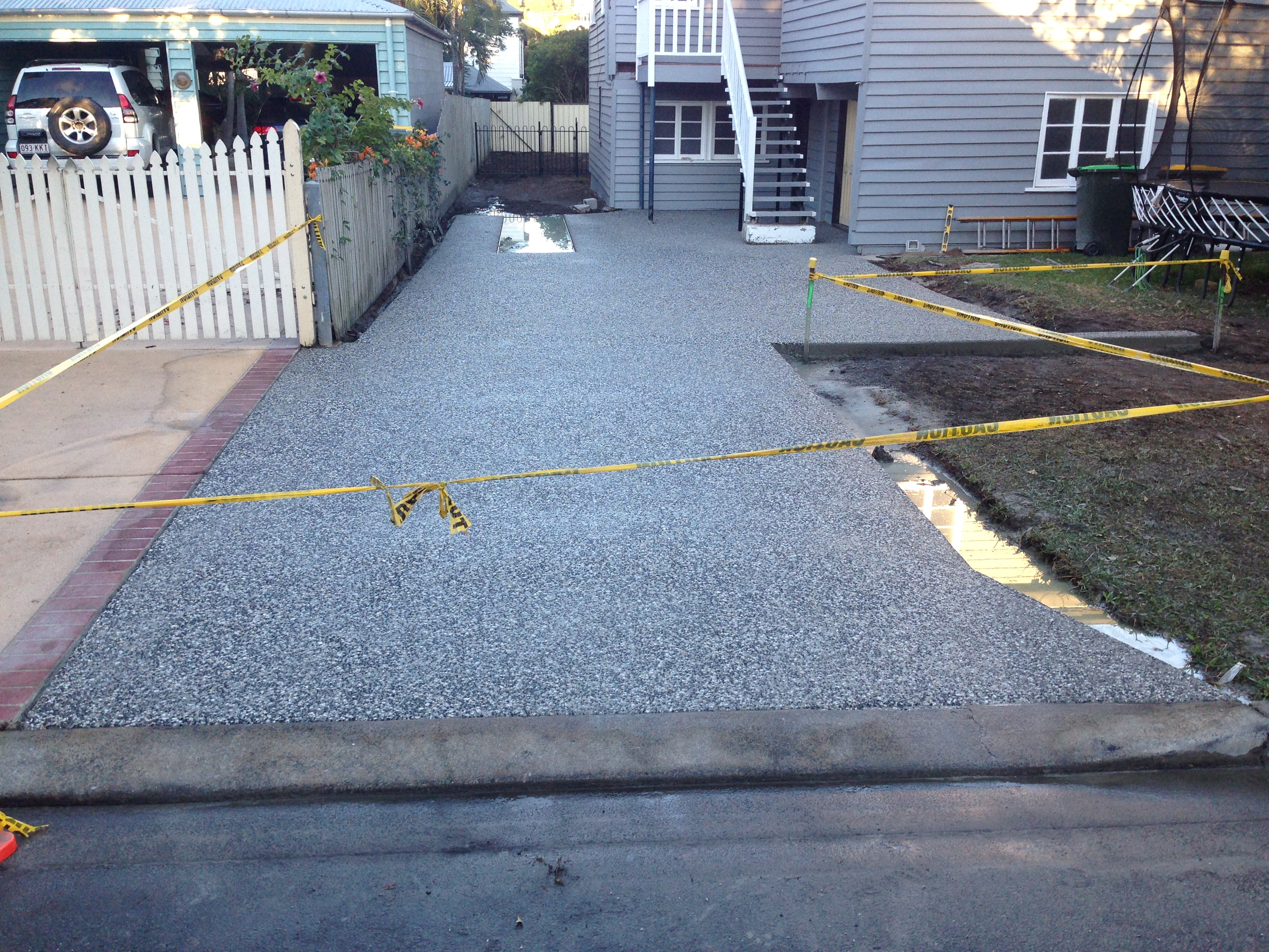 Exposed Driveway - Final Stage