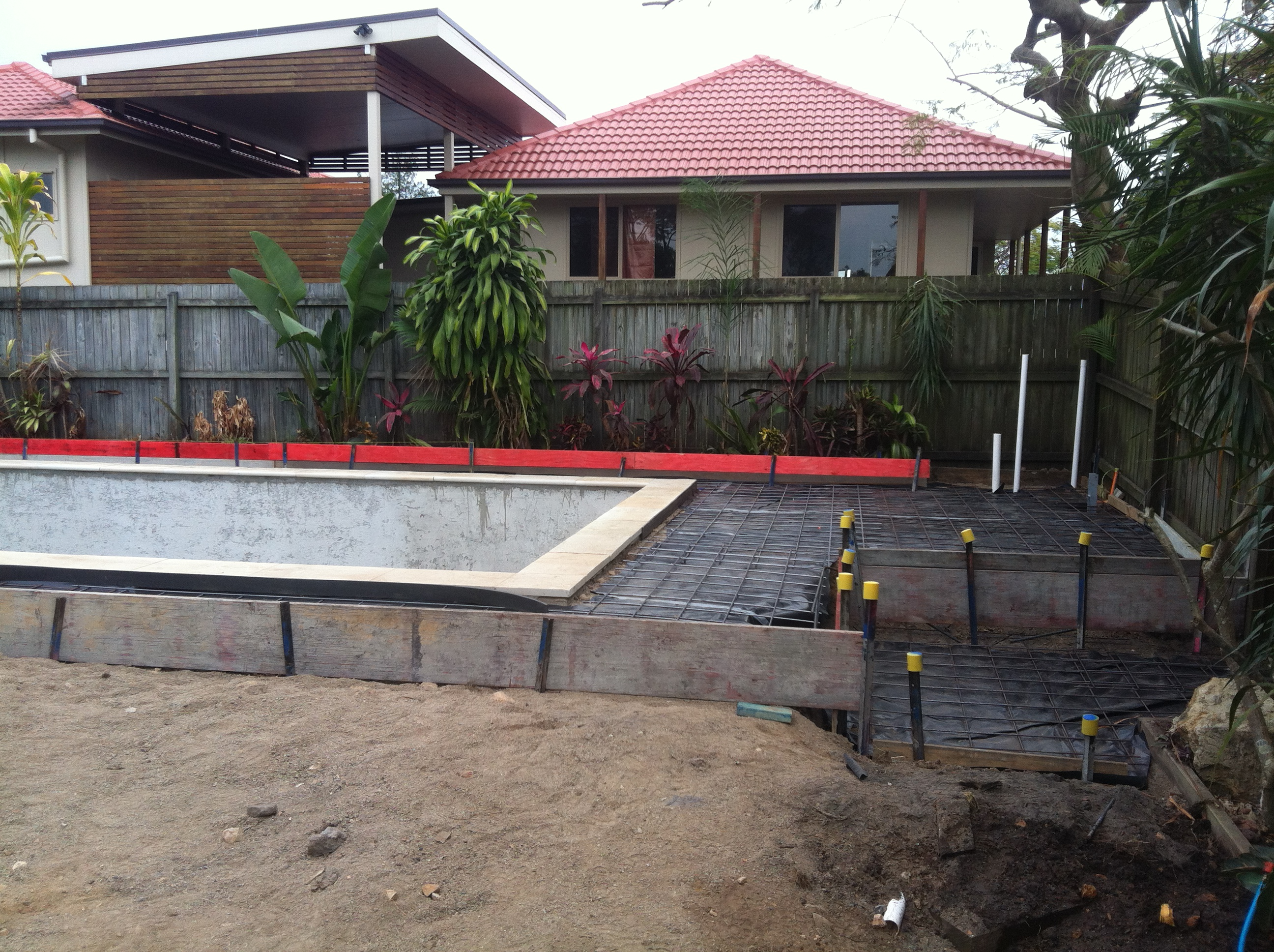 Exposed Pool Surround - Prep
