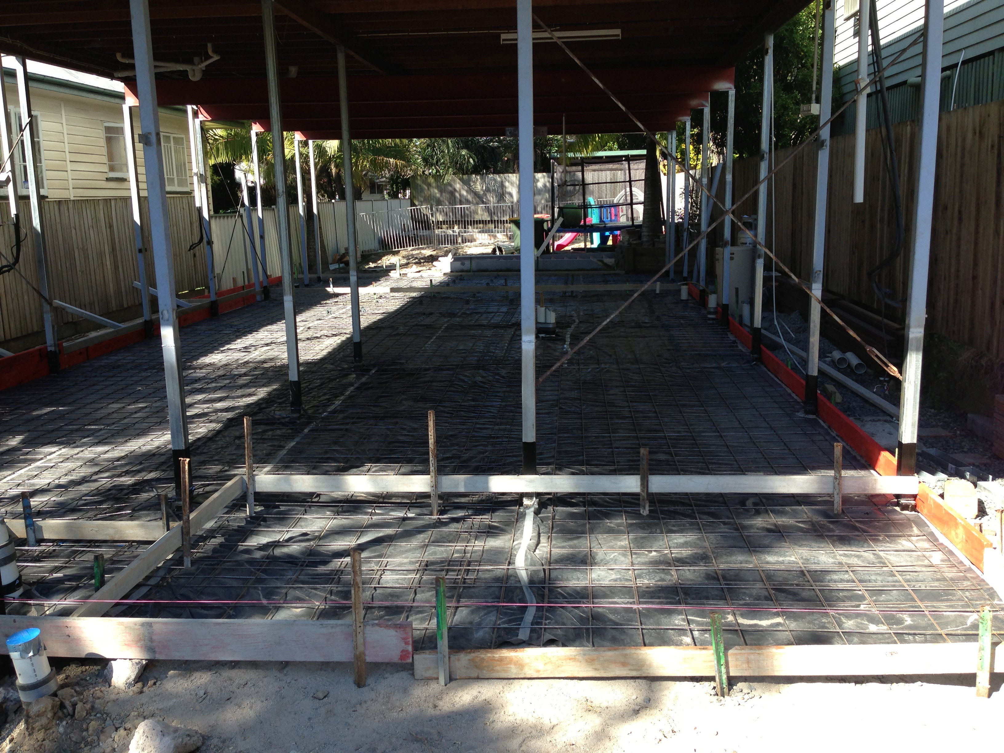 Under House Slab - Prep