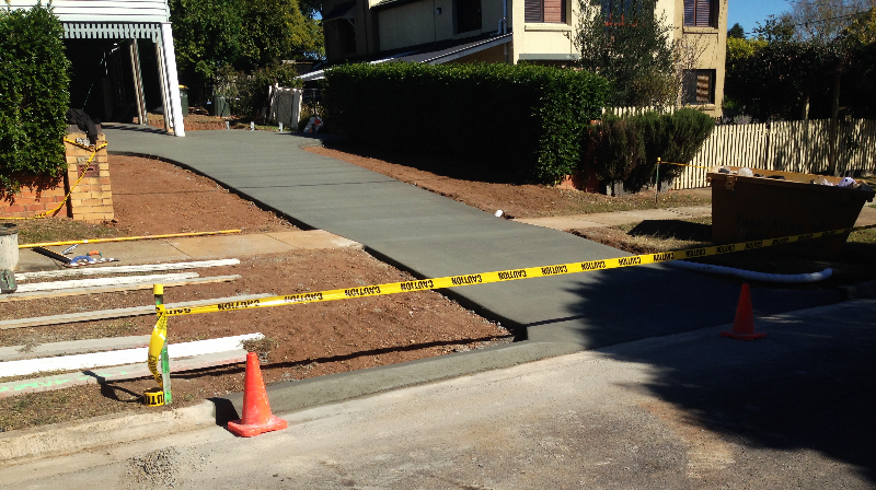 Plain Concrete - After