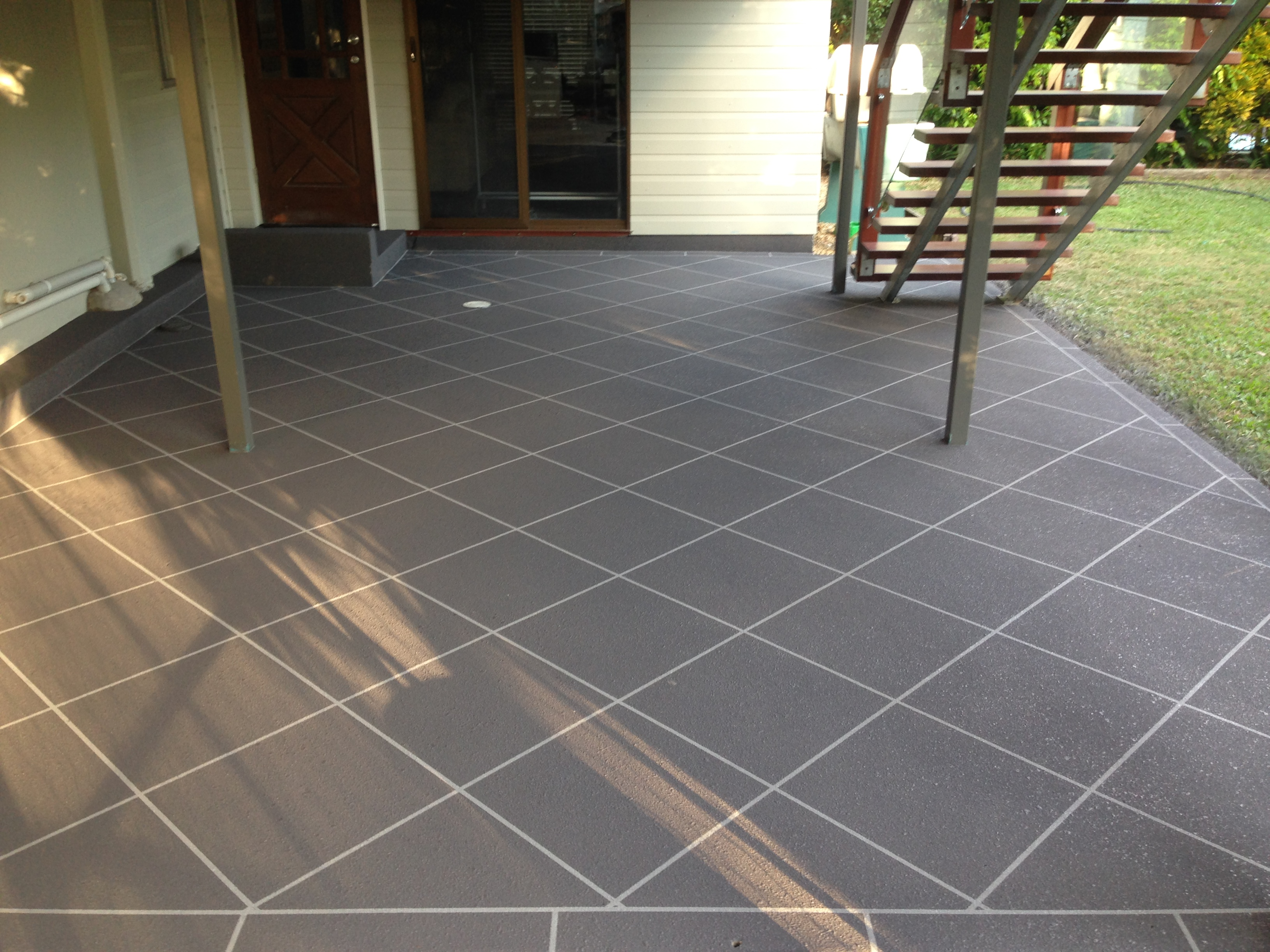Plain Patio - After Covacrete