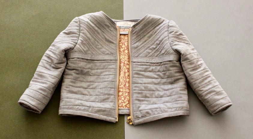 veste matelassé