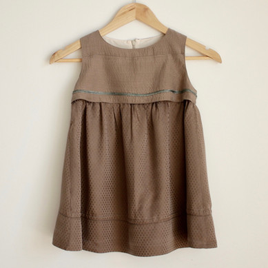 robe enfant soie