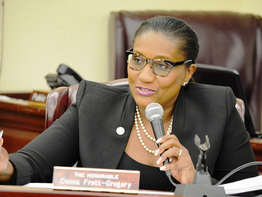 Senator Frett-Gregory's Legislative Report Card