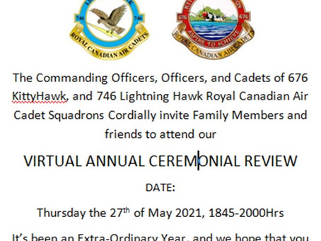 676 & 746 Annual Ceremonial Review