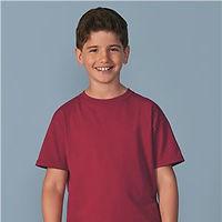 Customized youth short sleeve shirt
