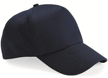 Five panel twill cap