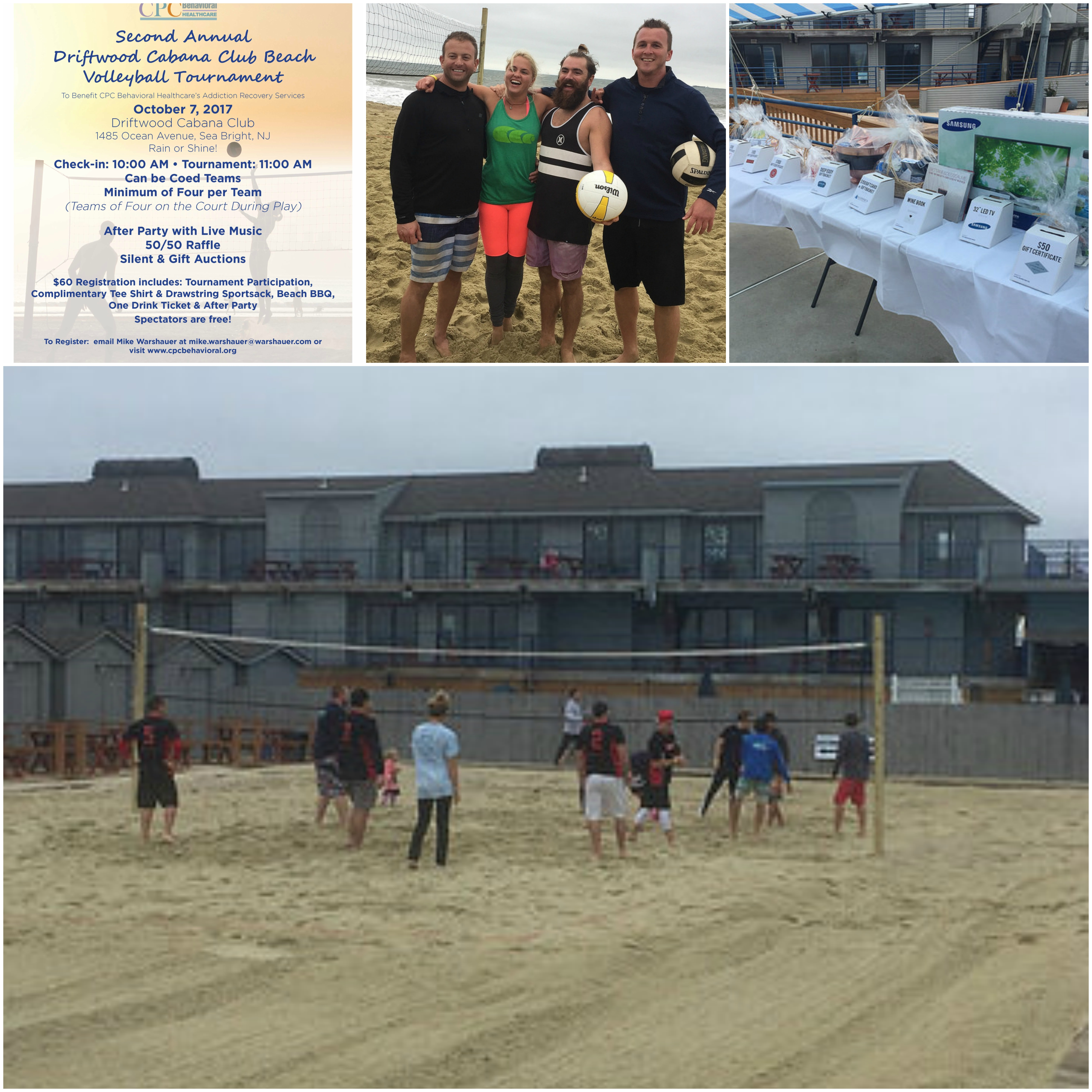 2nd Annual Driftwood Cabana Club Volleyball Tournament To Benefit Cpc Mental Health Addiction Treatment Special Education