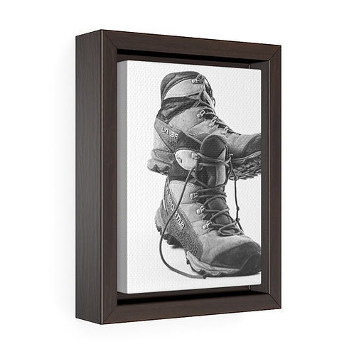 Go Explore - 5x7 Framed Canvas