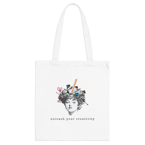 Unleash Your Creativity - Eco-Friendly Tote Bag