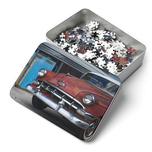 Quarantine Puzzle 1: An Old Chevy (252 Pieces)