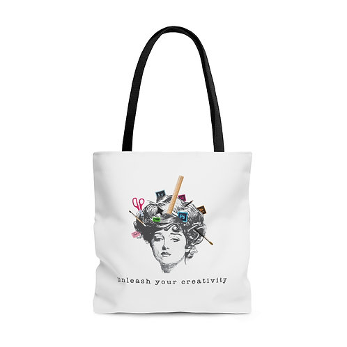 Unleash Your Creativity - Stylish Tote Bag