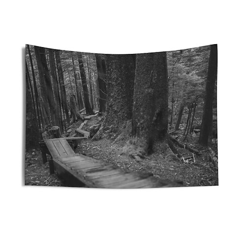 The Steps to Alaska - 36x26 Indoor Tapestry