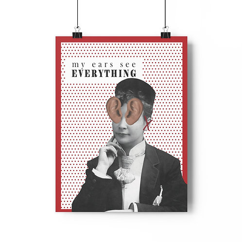 My Ears See Everything: Poster