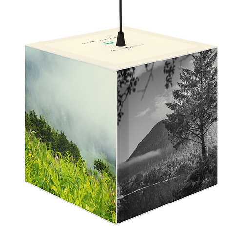 Eco-friendly Cube Light - Nature Theme