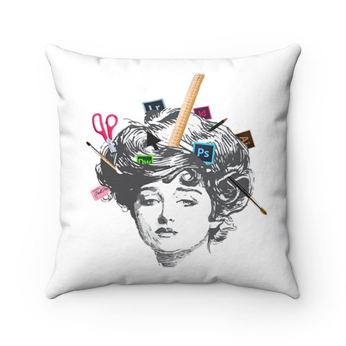 Unleash Your Creativity - Square Pillow