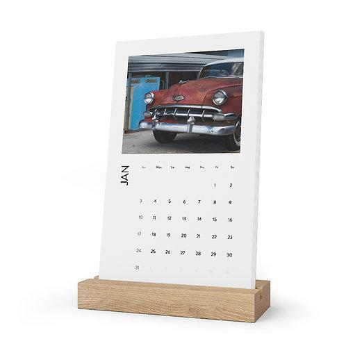 Eco Friendly 2021 Desk Calendar
