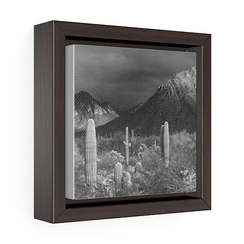 The Calm Storm of the SouthWest -  6x6 Framed Canvas