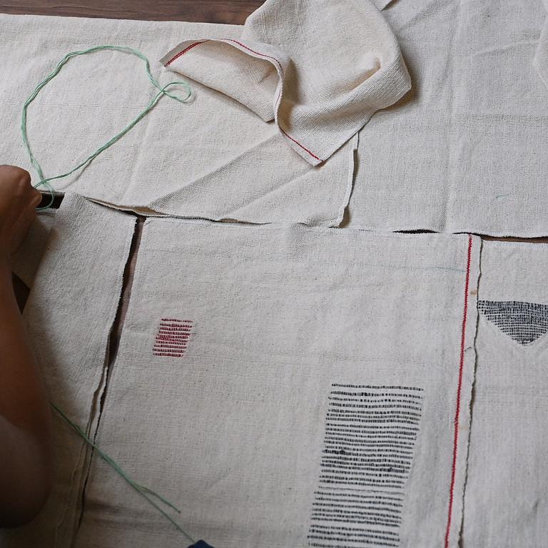 COP26 workshop in Glasgow: Zero to Iro Iro - by you zero-waste pattern workshop