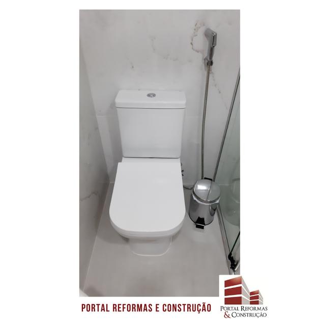 INSTALAÇÃO DAS LOUÇAS SANITÁRIAS - BANHEIRO 2