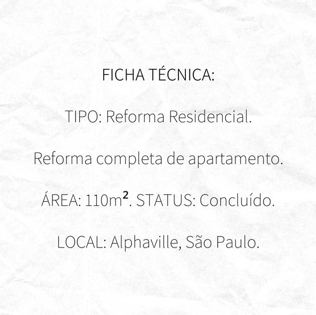 Ficha Técnica da Reforma