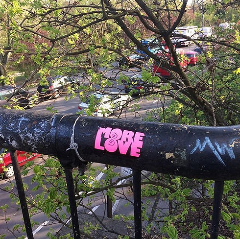 More Love._#tbt #berlin #streetart #stic