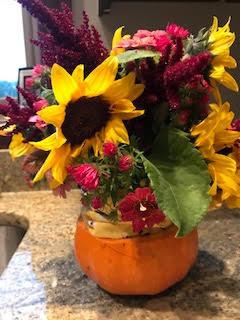 Sunflower floral arrangment