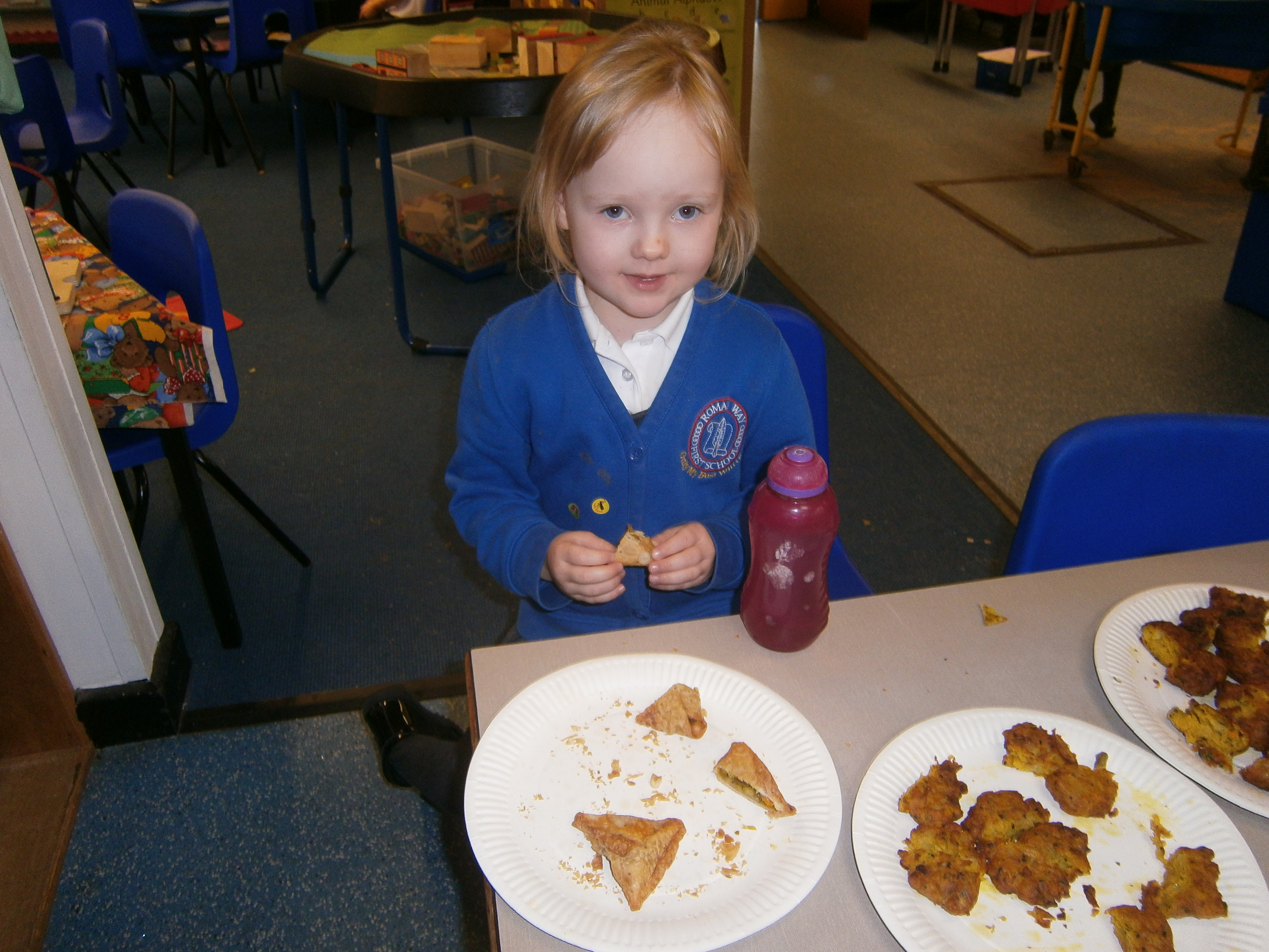 learning about Diwali an tasting Indian