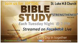 Virtual Bible Study Flyer