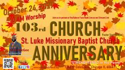 Church Anniversary Strengthened 2021 mcgee