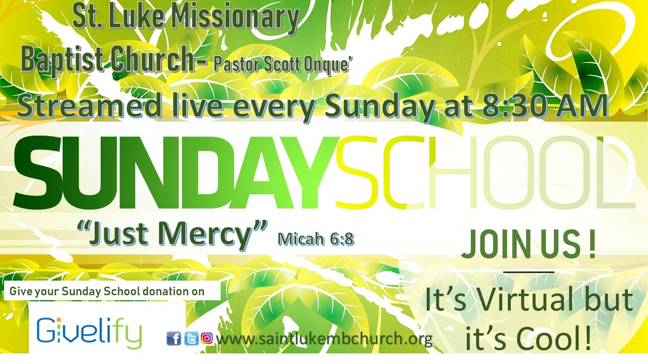 Virtual Sunday School Flyer