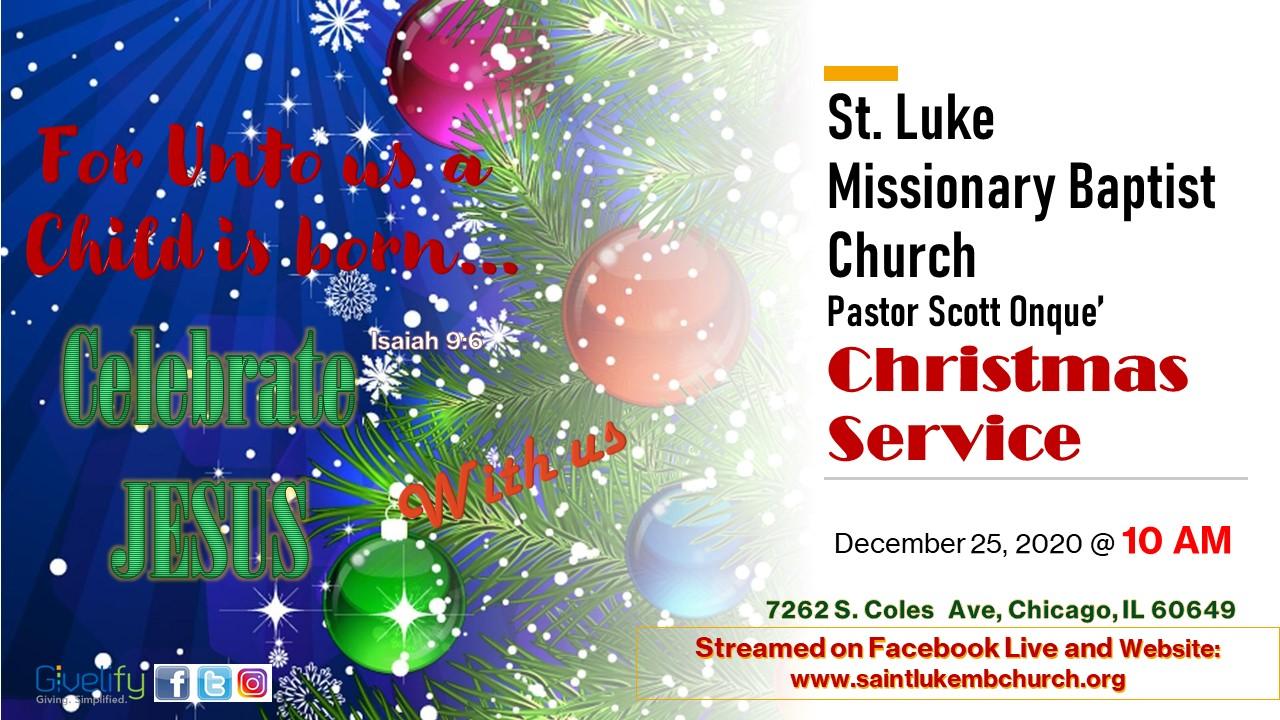 Virtual Christmas Service 2020