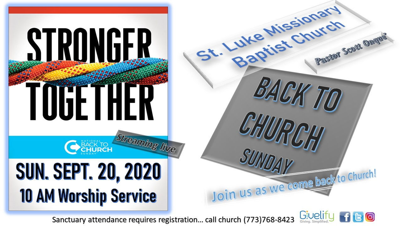 Virtual Back to Church Sunday Flyer