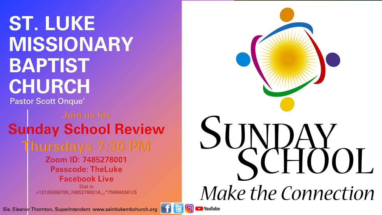 Sunday School Review Slide 2021